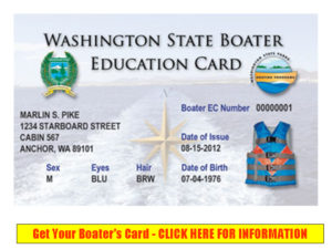 REceive your Washington State Boater Education Card