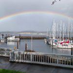 Rainbow captured by John Hauck