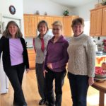 Sally Calkins, Cindy Ross, Karen Mahalick, Lyn Smith & Cathy Cox members