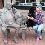 "Sandy & ""Pepper"" found friends in Sidney, Vancouver Island"
