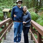 Bob & Linda enjoyed their first time at Chatterbox Falls
