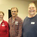 Geri, Randy and Commander Ray Madsen