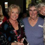 Linda B,Margaret S, Judy S and Julia enjoying social time