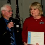 SEO Ray Thomas recognizes Linda Newland as a guest Instructor