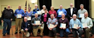 Recognition for VOlunteers 2018/2019