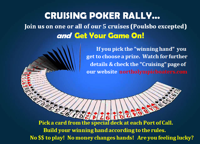 Flyer for Cruising Poker Rally