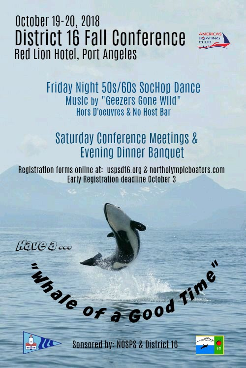 District 16 Fall COnference Poster