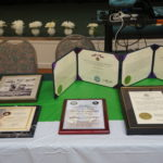 Documents and awards Speaker Dick Schoel has been awarded
