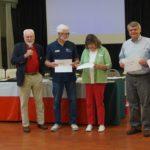 Randy, Nila, Gary & Ray receiving Instructional Development Certificates