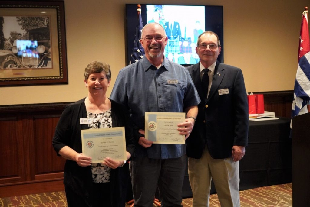 New Member Orientation & Operations Training Certificates awarded