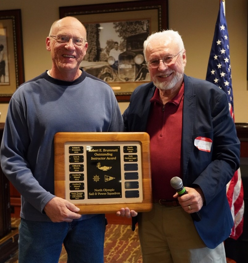 EDUCATOR of the YEAR AWARD = Randy Blackburn-Lappin.  CONGRATS!